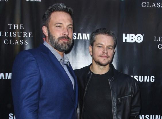 Ben Affleck en Matt Damon gaan voor 'inclusion rider'
