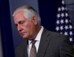 Trump ontslaat Buitenlandminister Tillerson