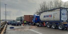 Dodelijke kettingbotsing E314 veroorzaakt door foutgeparkeerde carnavalswagen