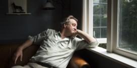 Inktaap naar Nederlandse schrijver Martin Michael Driessen voor 'Rivieren'