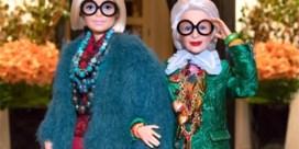 Barbie kruipt in de huid van 96-jarig stijlicoon Iris Apfel