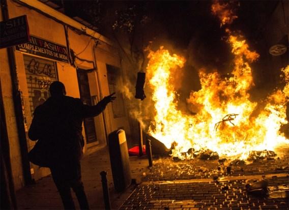 Gewelddadig protest in Madrid na dood straatverkoper