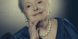 Actrice Olivia de Havilland, 101 en  kicking