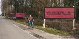 Three billboards outside Evergem