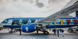 Brussels Airlines onthult 'Aerosmurf'