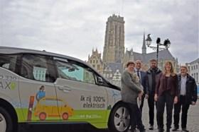 Mechelen wil alle taxi's tegen 2030 elektrisch