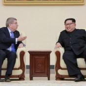 Kim Jong-un bedankt voorzitter Olympisch comité voor 'ontdooien' Koreaans conflict
