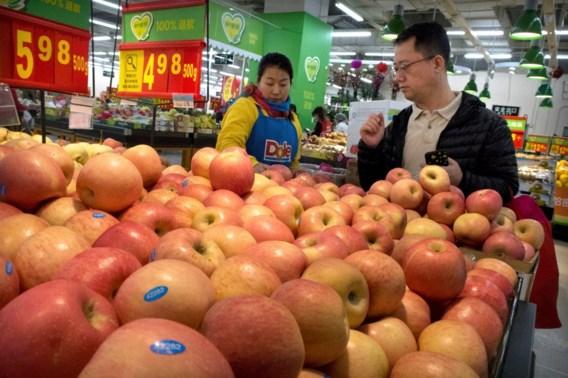 China slaat terug met importheffingen op Amerikaans fruit en varkensvlees