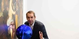 Kunstwerk Jeff Koons gesneuveld in Amsterdam