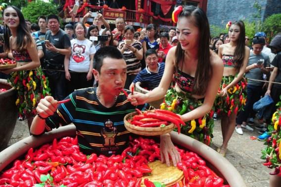 's Werelds heetste chilipeper doet man op spoed belanden