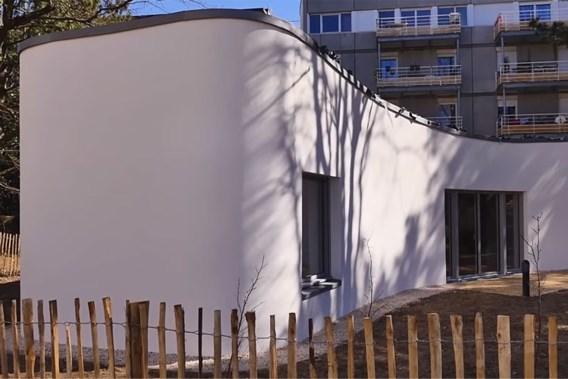 Eerste huis uit 3D-printer onthuld in Frankrijk