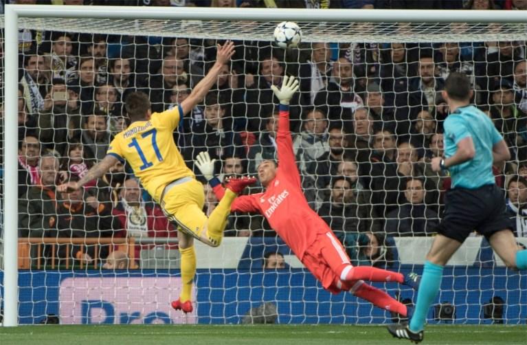 Drama voor Juventus: Real Madrid ontsnapt in extra tijd aan blamage dankzij strafschop en rode kaart