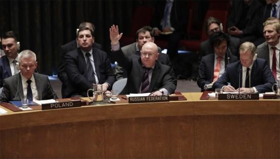 Russisch veto tegen ontwerpresolutie VS over Syrië, ook Russische resoluties verworpen