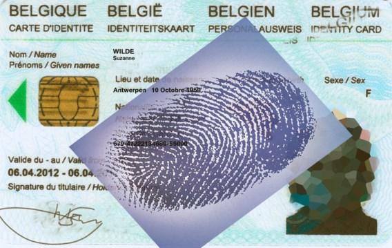 Privacycommissie gekant tegen vingerafdrukken op identiteitskaart