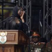 Naomi Campbell in tranen: 'God zegene Winnie Mandela'