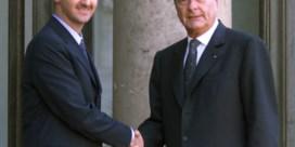 Syrische president verliest Franse decoratie