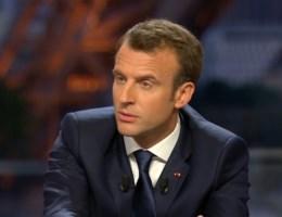 Macron: 'Situatie liep uit de hand door Trumps tweets'