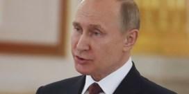Poetin noemt westerse aanval in Syrië 'flagrante schending' van internationaal recht