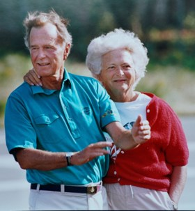 Voormalige first lady Barbara Bush overleden