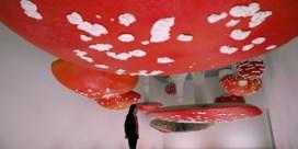 Omgekeerde paddenstoelen en meer op het Salone del Mobile in Milaan
