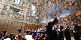 Klassiek orkest bewijst hoe mooi muziek kan klinken in Sixtijnse Kapel