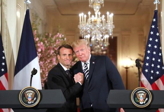 Macron verwacht dat Trump zich terugtrekt uit Iran-akkoord