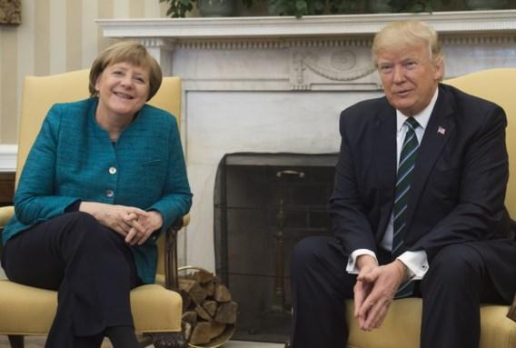 Nu is Merkel op Trump-missie