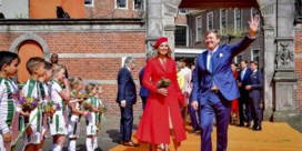 Koningin Máxima en prinses Amalia kiezen voor Natan op Koningsdag