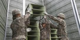 Zuid-Korea zet luidsprekers aan grens met Noord-Korea uit