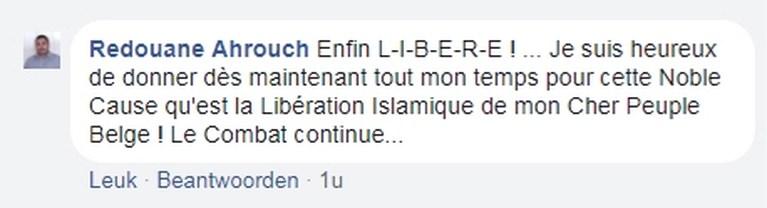 Voorzitter partij Islam na ontslag: 'Eindelijk tijd om Belgen te bevrijden'