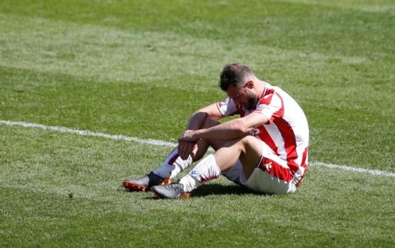 Na tien jaar degradeert Stoke uit Premier League: zelfs doelpuntenmaker biedt excuses aan