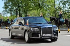 Vladimir Poetin legt vierde maal eed af als president