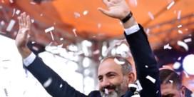 Protestleider wordt Armeense premier: 'We hebben geschiedenis geschreven'