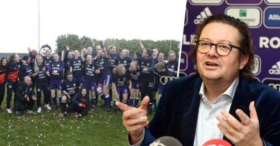 """Marc Coucke belt trainer na """"misverstand"""": vrouwenteam Anderlecht blijft dan toch bestaan"""