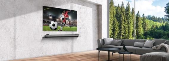 LG OLED TV brengt de voetbal naar je woonkamer