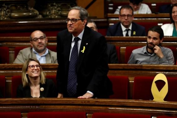 Opvolger Puigdemont waarschijnlijk morgen verkozen