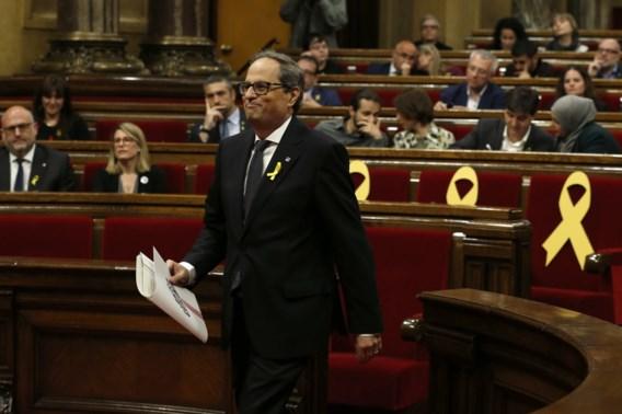 Na Puigdemont, eindelijk een minister-president
