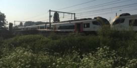 Auto gegrepen door trein: vrouw overleden, reizigers geëvacueerd