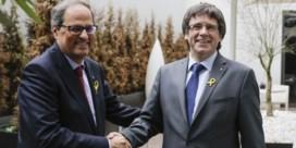 Opvolger Puigdemont wil dialoog met Madrid