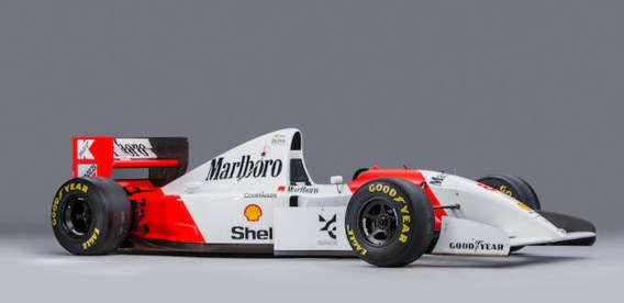 McLaren F1-bolide Ayrton Senna verkocht voor 4,2 miljoen euro