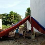 Vietnam - Kamperen in een bouwput