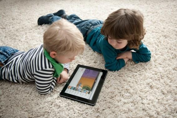 Tablets, het nieuwe kinderspeelgoed