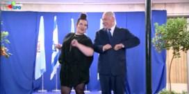 En toen danste Netanyahu als een kip
