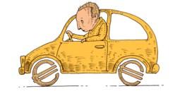 Is een lening voor de aankoop van een auto fiscaal aftrekbaar?