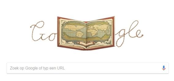 Google eert Antwerpse cartograaf Abraham Ortelius