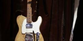 Eerste gitaar 'elektrische' Bob Dylan verkocht voor recordbedrag