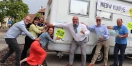Nieuw Kuurne trekt met caravan rond om mening Kuurnenaars te kennen