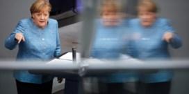 Waar zit Angela Merkel?