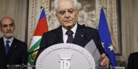 Politiek drama in Rome, allicht nieuwe verkiezingen