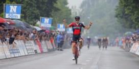 Jürgen Roelandts wint Gullegem Koerse, voor ploegmaat Greg Van Avermaet